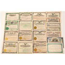 Texas & Oklahoma Oil Stock Certificate Collection   (104434)