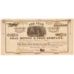 Utah Coal Mining & Coke Company Stock Certificate   (107200)