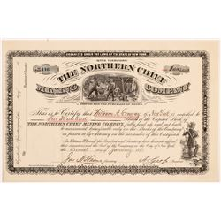 Northern Chief Mining Company Stock Certificate   (107201)