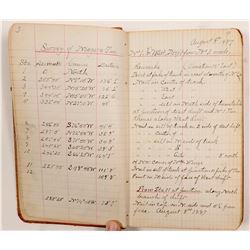 Mineral Surveyor Field Notes Book   (105082)