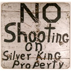Silver King Mine Sign   (108211)