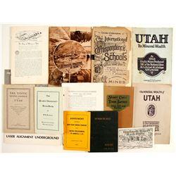Utah Mining Booklets (13)   (86452)