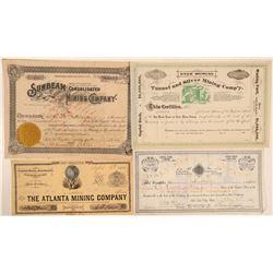 Utah Mining Stock (4)   (105494)