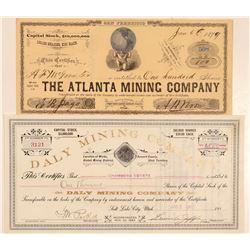 Utah Mining Stocks (2)   (105493)