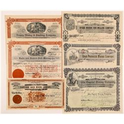 Six Different Spokane Datelined Washington Mining Stocks   (104394)