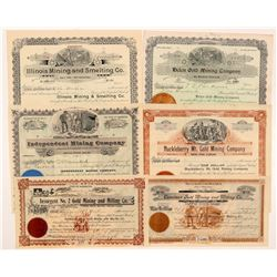 Six Different Spokane Datelined Washington Mining Stocks   (104393)