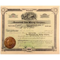Homestead Iron Mining Stock   (106342)