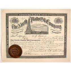 North Platte Oil Company Stock   (87919)