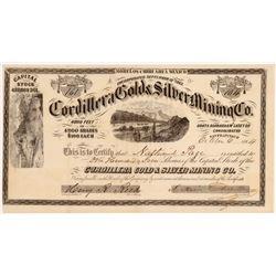 Cordillera Gold & Silver MC Stock   (106623)