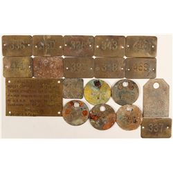 Mammoth Mine Underground Edison Light Tags   (105748)