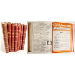 Mining and Contracting Review (7 Volumes)   (64238)