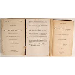 Mining References, Key Volumes, 1870's   (81517)