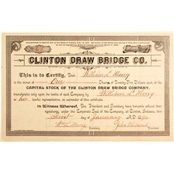 Clinton Draw Bridge Co Stock   (83466)