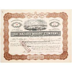 Hazard Wharf Co of Baltimore City   (83439)