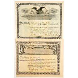 Guest Bates Marine Life Savings Appliances Co Stocks (2)   (83444)