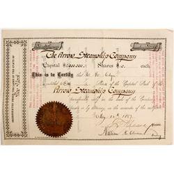 Arrow Steamship Co Stock   (83424)