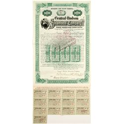 Central Hudson Steamboat Co Bond   (83400)