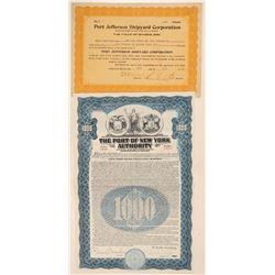New York Ports Stock and Bond   (105606)