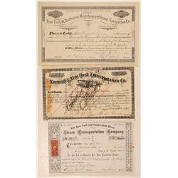 New York Steamship Stocks (3)   (105642)