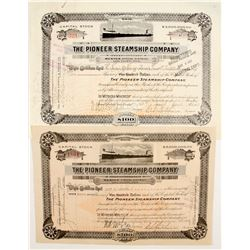 Pioneer Steamship Co Stocks (2)   (83371)