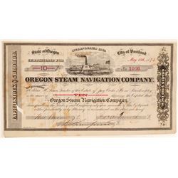 Oregon Steam Navigation Company Stock   (105638)