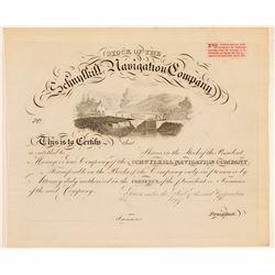 Schuykill Navigation Stock   (105615)