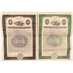 Schuylkill Transportation Company Bonds   (104278)