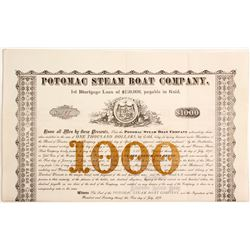 Potomac Steam Boat Co Bond   (83339)