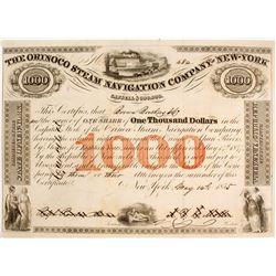 Orinco Steam Navigation Co of NY Stock   (83370)