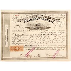 Boston, Newport and New York Steamboat Co   (87200)