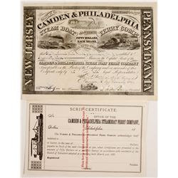 Camden & Philadelphia Steam Boat Ferry Co Stock   (83409)