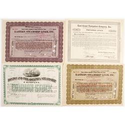 Eastern Navigation Stocks (4)   (83445)