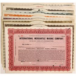 International Mercantile Marine Co Stocks (10)   (83465)