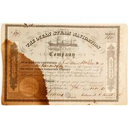 Ocean Steam Navigation Stock   (83460)