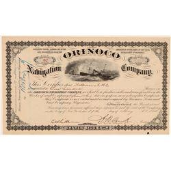 Orinoco Navigation Stock   (105614)