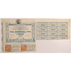 Panama Canal - French stock   (106437)