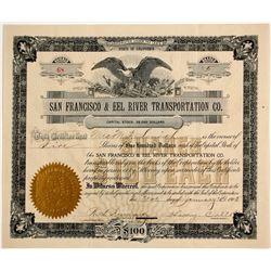 San Francisco & Eel River Transportation Co.   (86568)