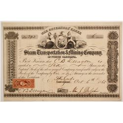 Steam Transportation & Mining Co of NC   (86574)