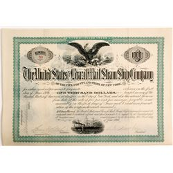 United States and Brazil Mail Steam Ship Co Bond   (83333)