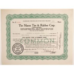 Mason Tire & Rubber Corp   (88479)