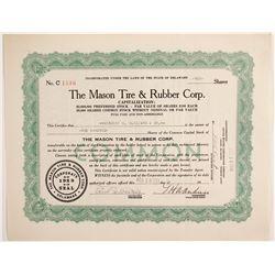 Mason Tire & Rubber Corp   (88479)