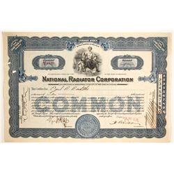 National Radiator Corp.   (89654)