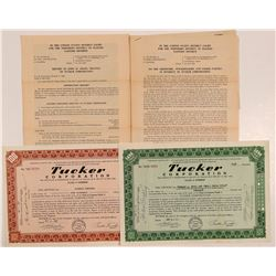Tucker Corporation Stock Certificates & Ephemera   (107234)