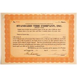 Standard Tire Company, Inc   (89713)