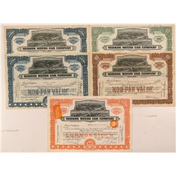Hudson Motor Car Company Stock Certificates   (107312)