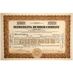 Seiberling Rubber Company. Stock    (89644)