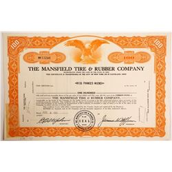 Mansfield Tire & Rubber Co. Stock   (88452)