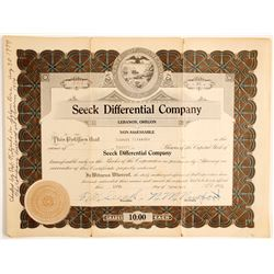 Seeck Differential Co. Stock    (89676)