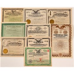 Tire & Rubber Companies Stock Certificates   (107261)