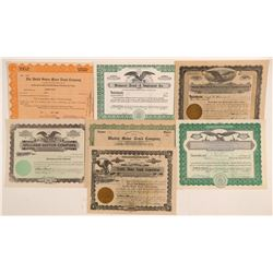 Truck Company Stock Certificates   (107319)